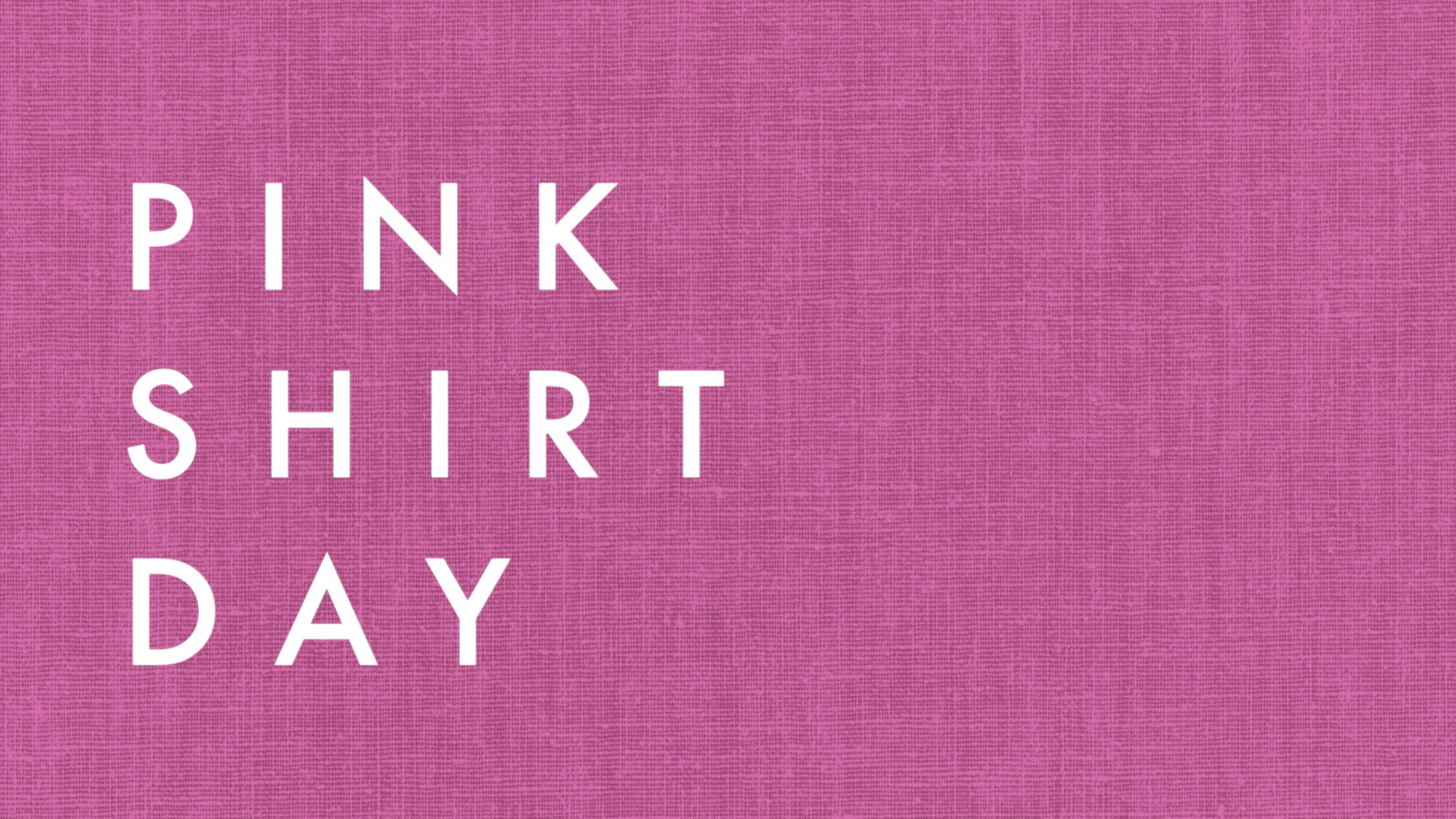 Image result for pink shirt day 2018