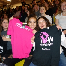 Second annual I Am Stronger rally at Evan Hardy Collegiate.