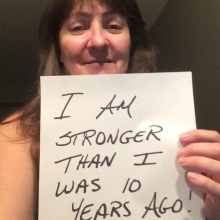 September I Am Stronger Contest. What are you stronger than?