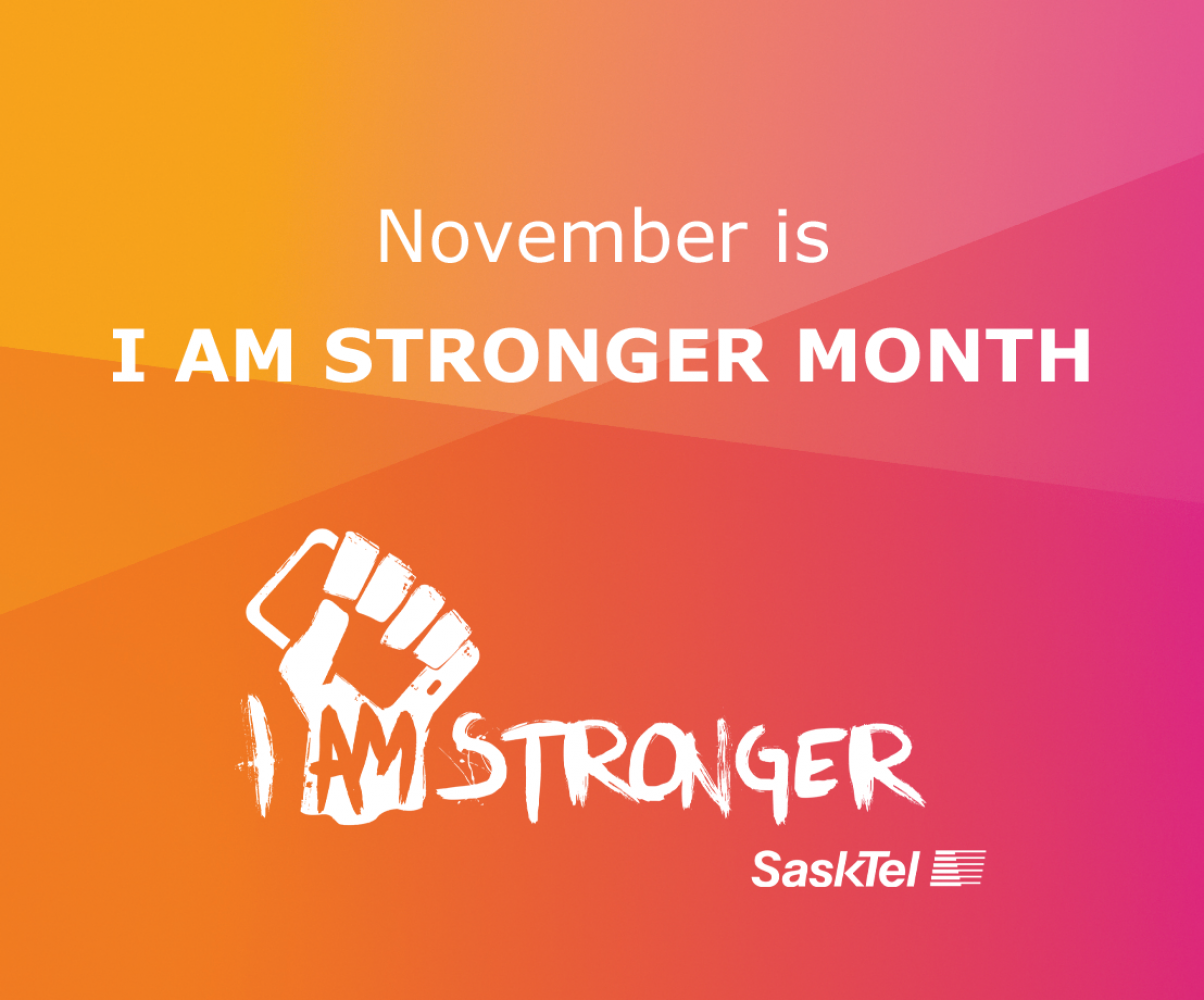 I Am Stronger month is back!
